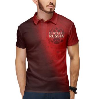 Поло мужское Football Russia