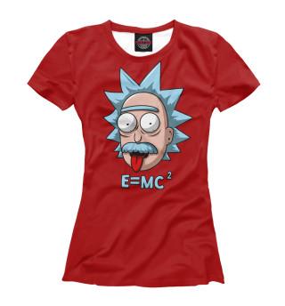 Футболка женская E=mc^2