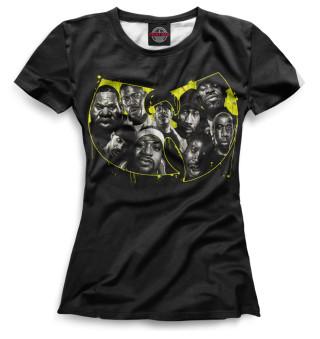 Футболка женская Wu-Tang Clan (6501)