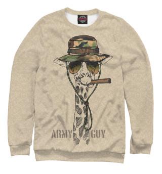 Одежда с принтом Army guy