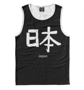Майка мужская sign Japan