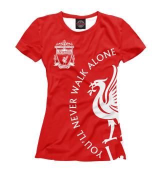Футболка женская Ливерпуль (7821)