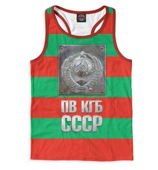 Майка борцовка мужская ПВ КГБ