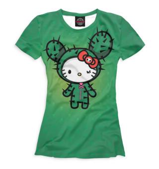 Футболка женская Hello Kitty