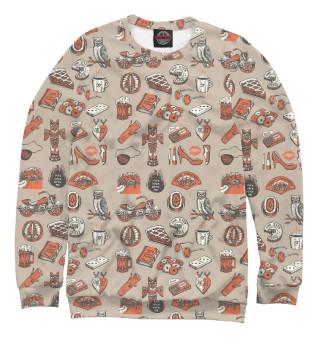 Одежда с принтом Twin Peaks Symbols