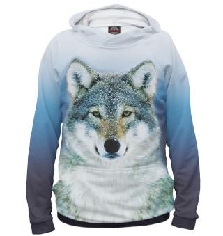 Худи женское Волк (3781)