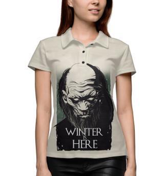 Поло женское Winter Is Here