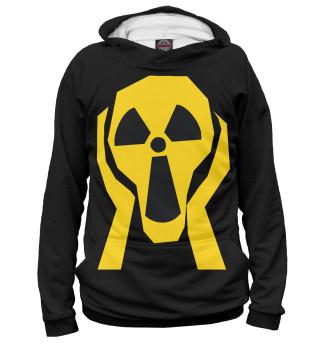 Худи женское Радиация: Крик