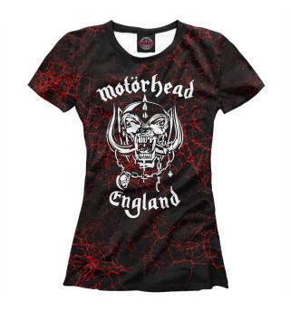 Футболка женская Motorhead (6370)