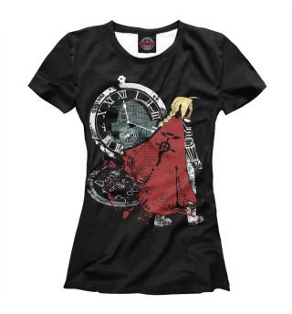Футболка женская Fullmetal alchemist (1357)