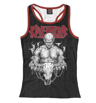 Майка борцовка женская Kreator - thrash metal band