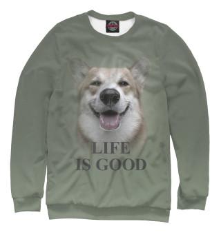 Одежда с принтом Life is Good