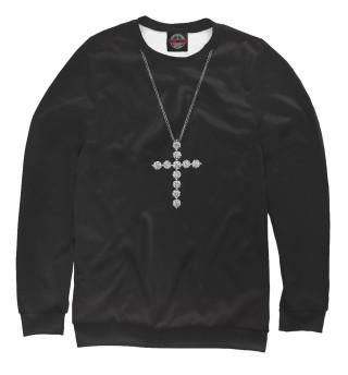 Одежда с принтом Бриллиантовый крест