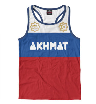 Майка борцовка мужская Akhmat Russia