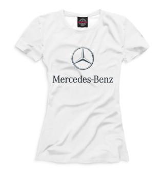 Футболка женская Mercedes-Benz (3859)