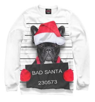 Свитшот  мужской Плохой Санта