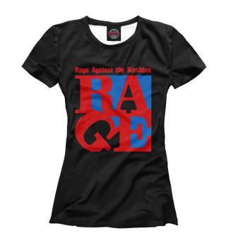 Футболка женская Rage Against the Machine (8232)