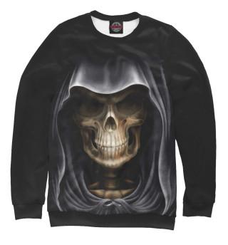 Одежда с принтом Скелет в капюшоне