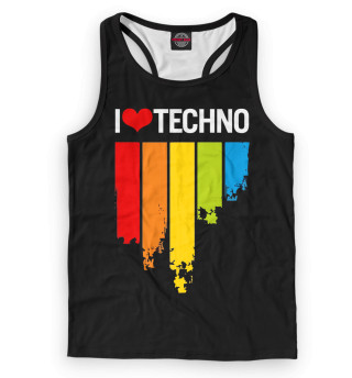 Майка борцовка мужская Techno (6924)