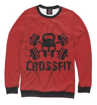 Одежда с принтом Crossfit Skull