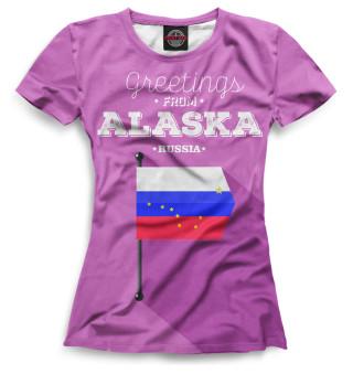 Футболка женская Аляска (8589)