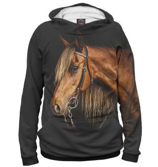 Худи женское Лошади (9922)