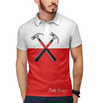 Поло мужское Pink Floyd (8671)