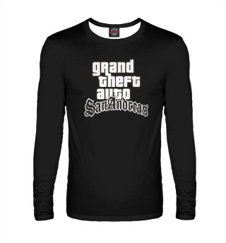 Лонгслив  мужской GTA San Andreas Logo