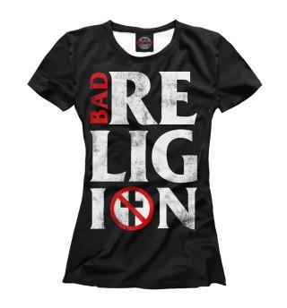 Футболка женская Bad Religion (3042)