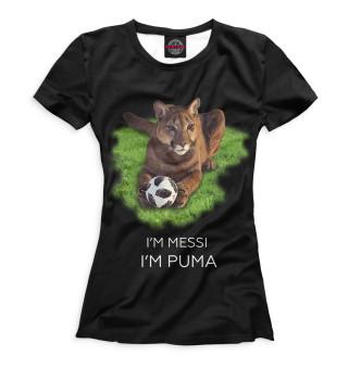 Футболка женская Пума (7900)