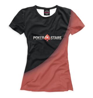 Футболка женская Pokerstars
