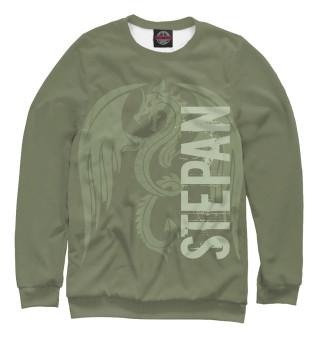 Одежда с принтом Степан и дракон