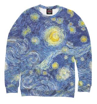 Одежда с принтом Звездное небо Ван Гога