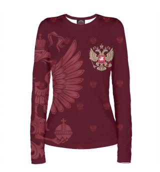 Лонгслив  женский Герб России (9115)