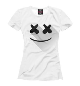 Футболка женская Marshmello (5138)