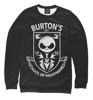 Одежда с принтом Школа Бёртона