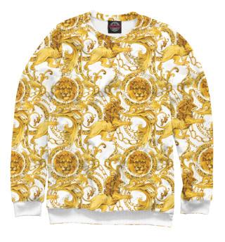 Одежда с принтом Versace львы (746332)