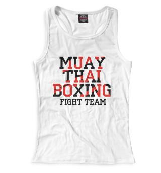 Майка борцовка женская Muay Thai Boxing (6415)