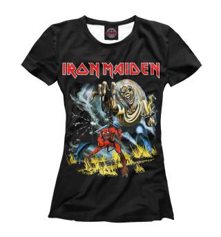 Футболка женская Iron Maiden (6987)