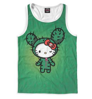 Майка борцовка мужская Hello Kitty (7278)