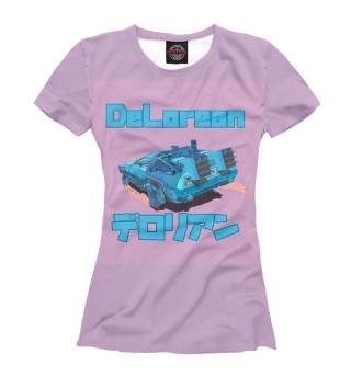 Футболка женская Delorean