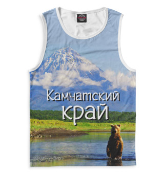 Майка мужская Камчатский край