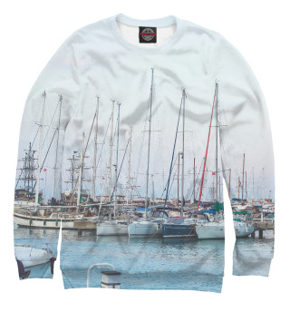 Одежда с принтом Яхты