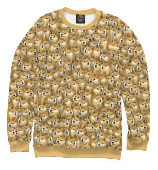 Одежда с принтом Собачки Doge