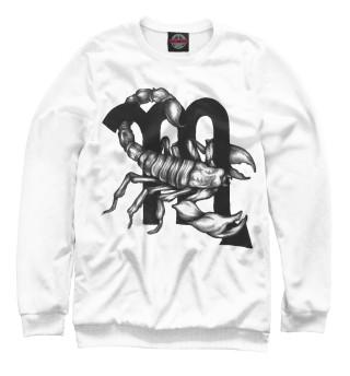 Одежда с принтом Скорпион