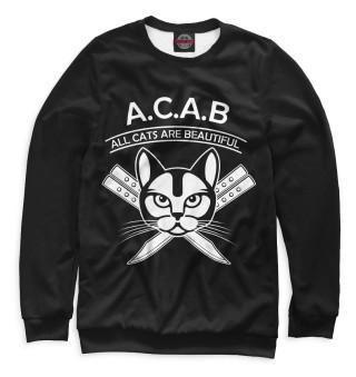 Одежда с принтом A.C.A.B.