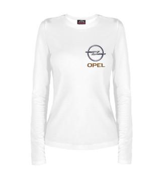 Лонгслив  женский Opel