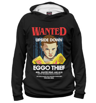 Худи женское Stranger Things / Wanted Eleven