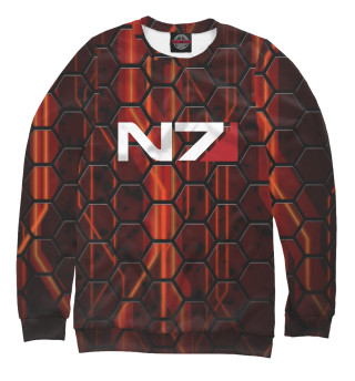 Одежда с принтом Mass Effect N7 (526969)