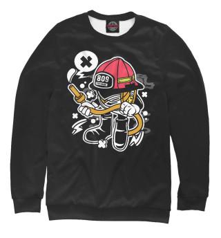 Одежда с принтом Firefighter